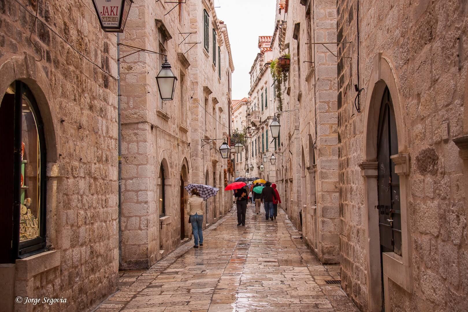 Dubrovnik calles