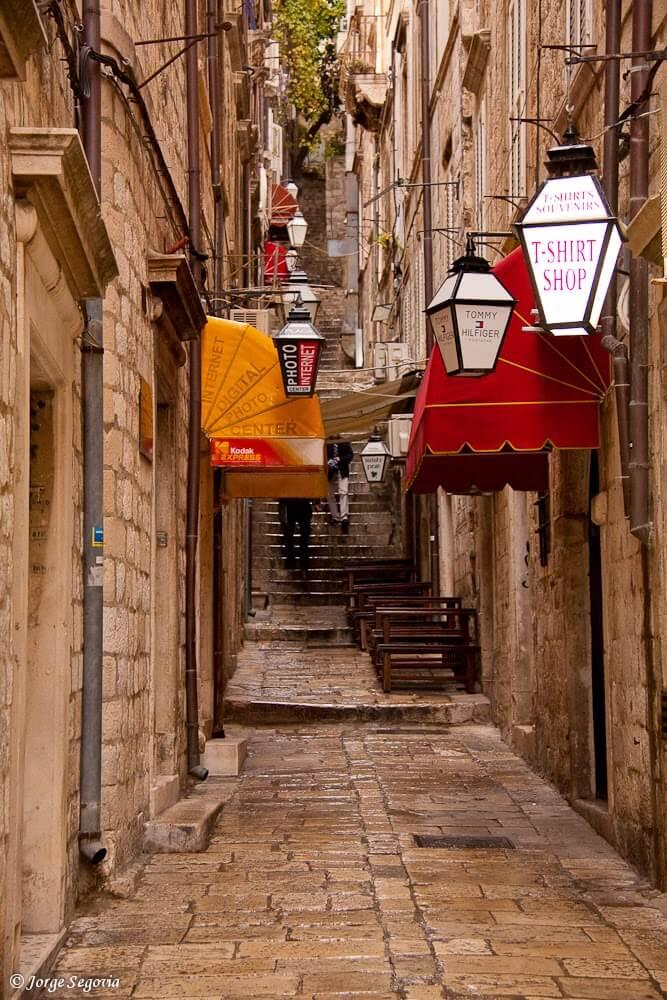 Dubrovnik callejones
