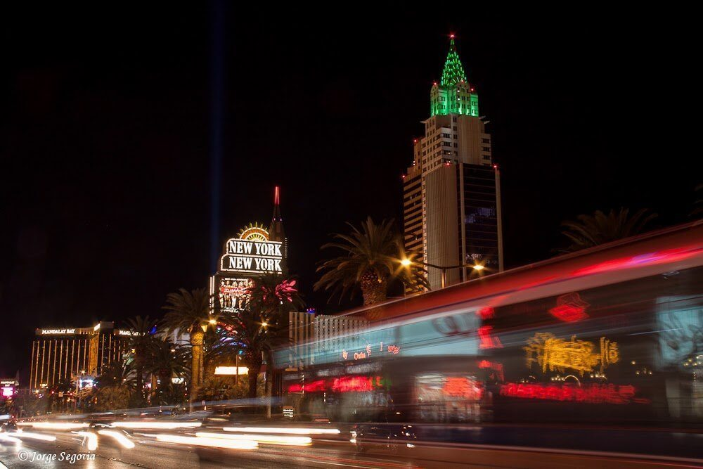 Las Vegas de noche