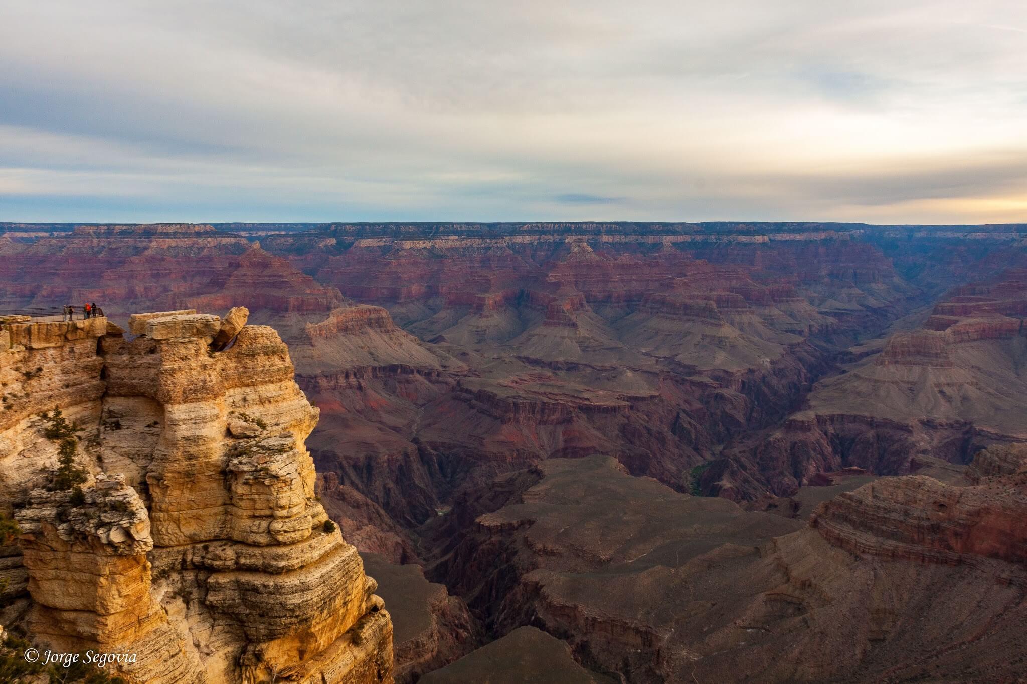 Amanecer en Grand Canyon
