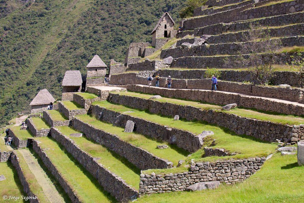 Terrazas en Macchu Picchu