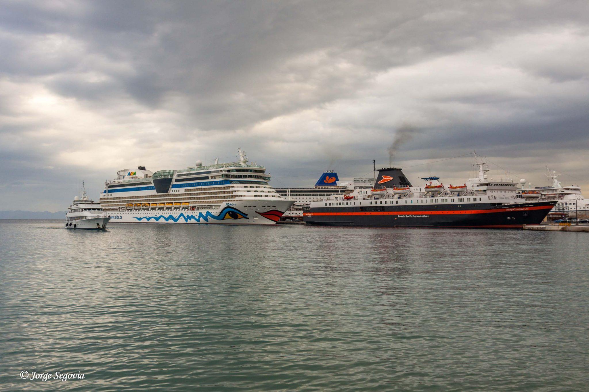 Cruceros en Rodas