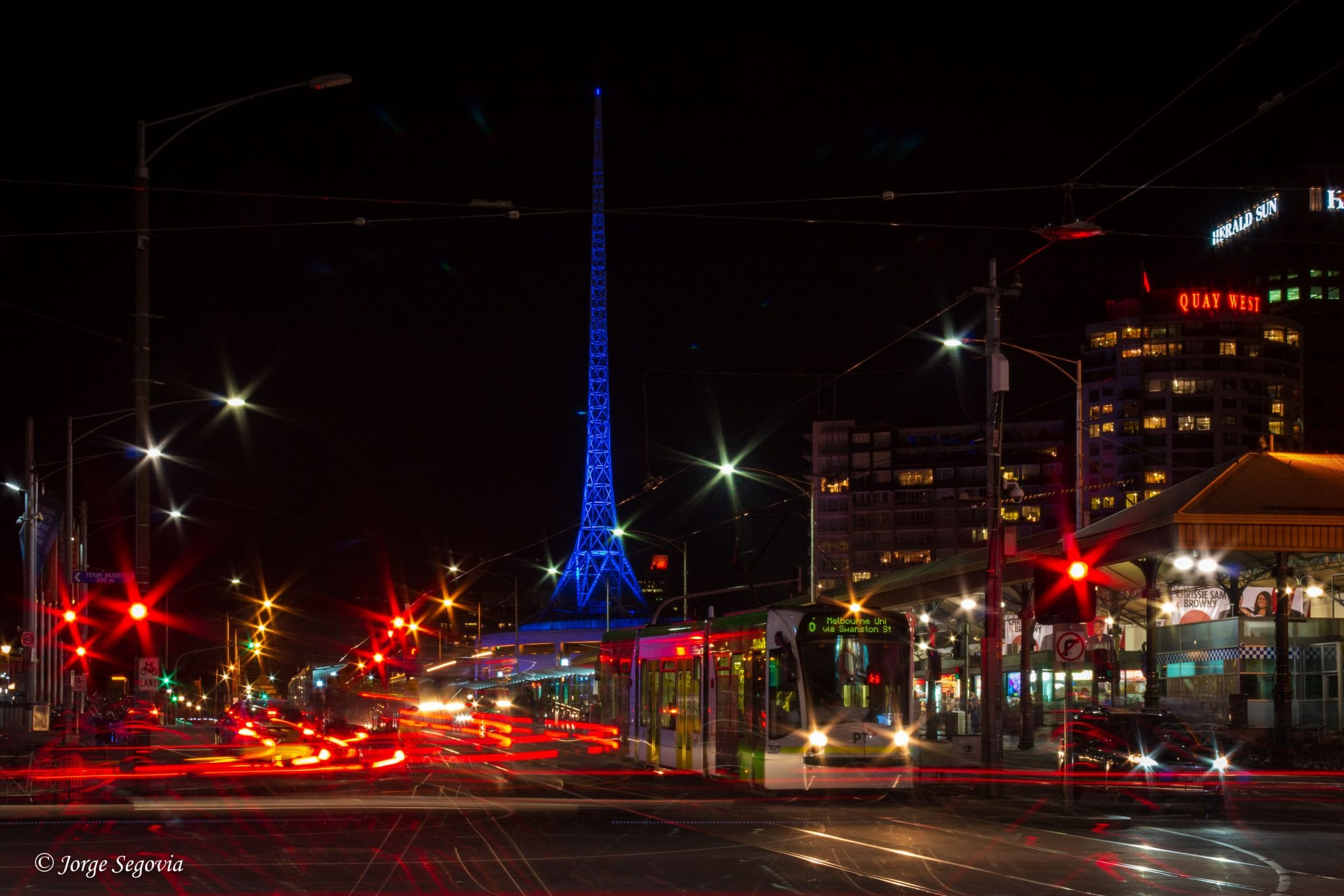 Tranvias en Melbourne