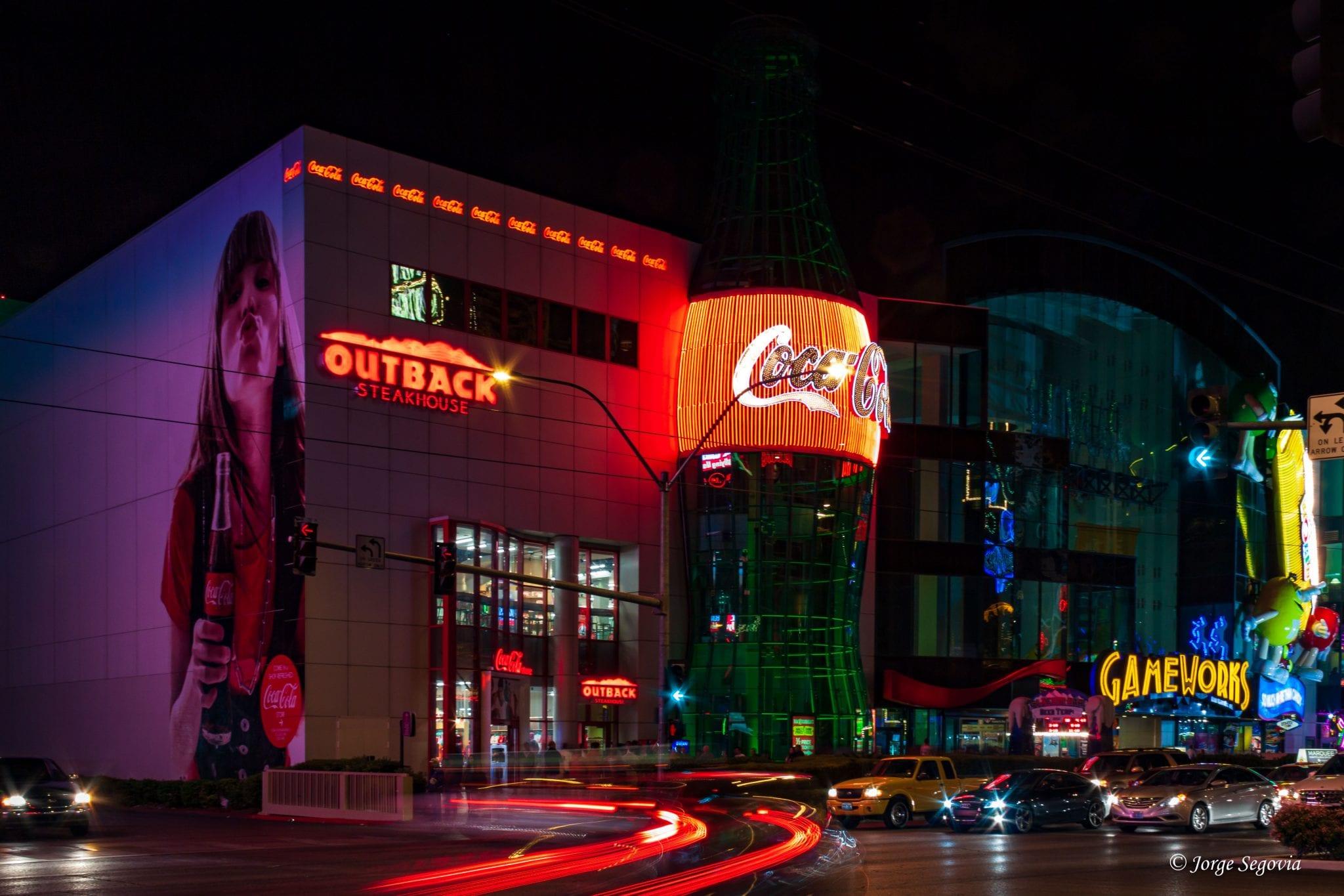 Neones en Las Vegas