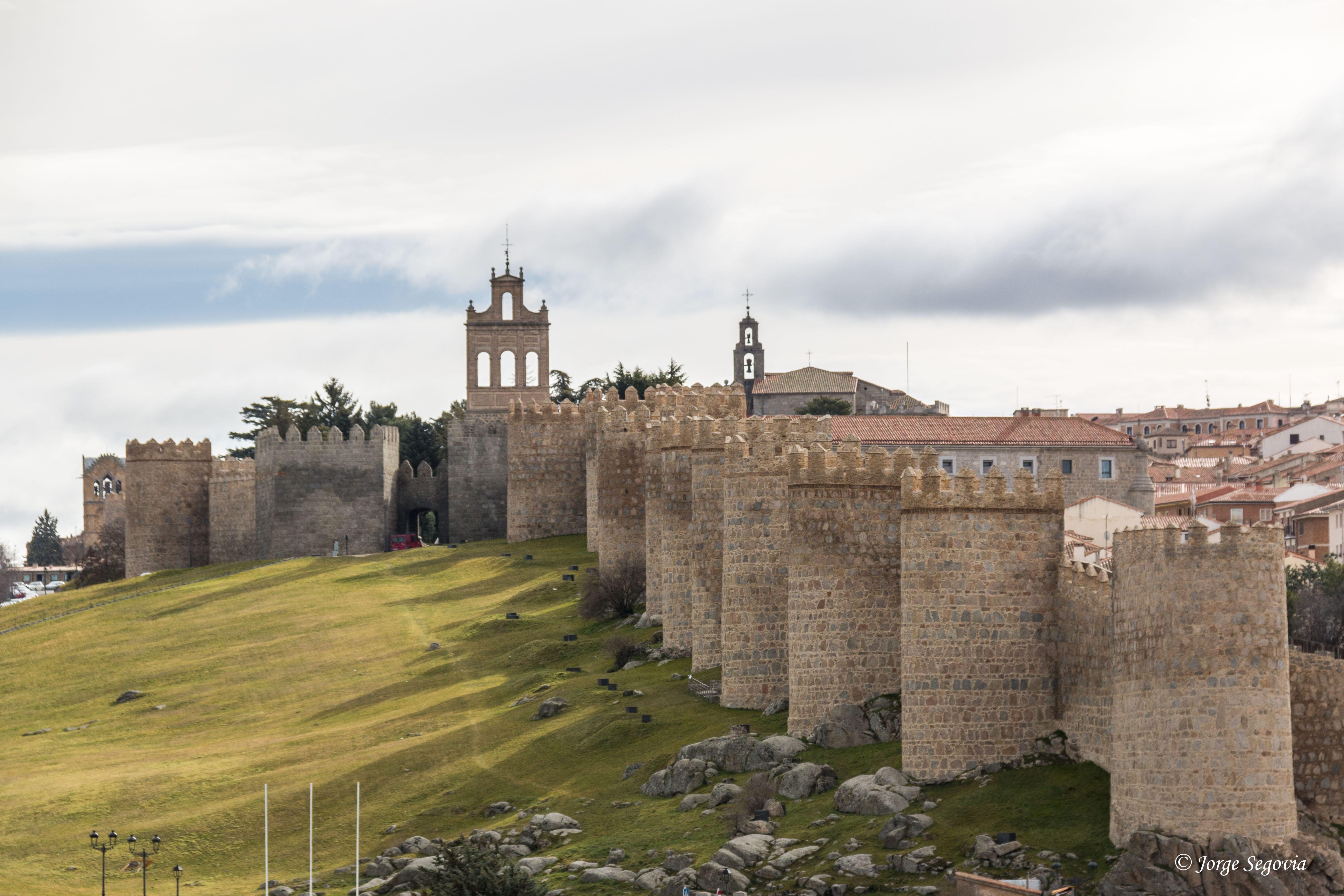Edificios emblemáticos de España: Murallas de Ávila