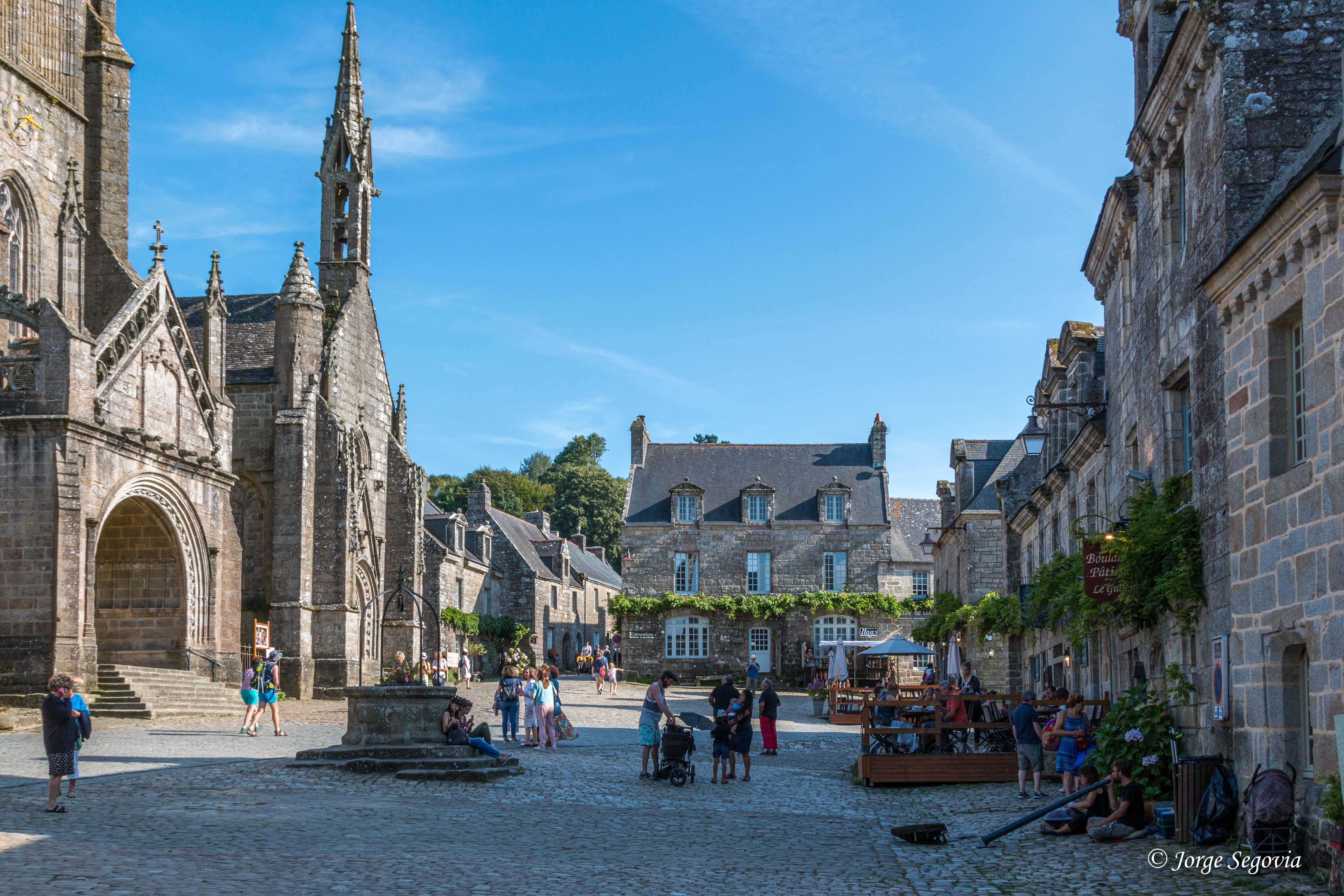 Locronan: Pueblo más bello de Francia